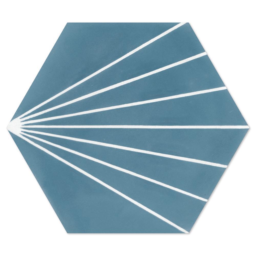 Villa Lagoon Tile Spark C Stone Blue Ps 7 7 8 In X 7 7 8 In Cement Handmade Floor And Wall Tile Sb20rh16 S Villa Lagoon Tile Floor And Wall Tile Wall Tiles