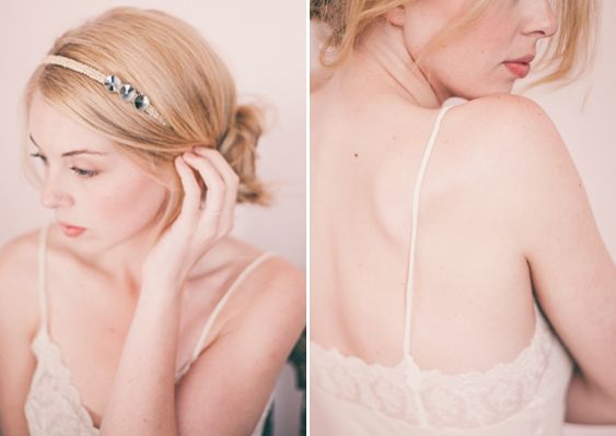 Wedding Veil Inspirations by Izzie Rae Photography. Headpiece by Anthropologie