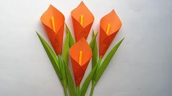 Photo of Wie man Lilie Papierblume macht | Einfache Origami-Blumen für Anfänger DIY-Papier Handwerk