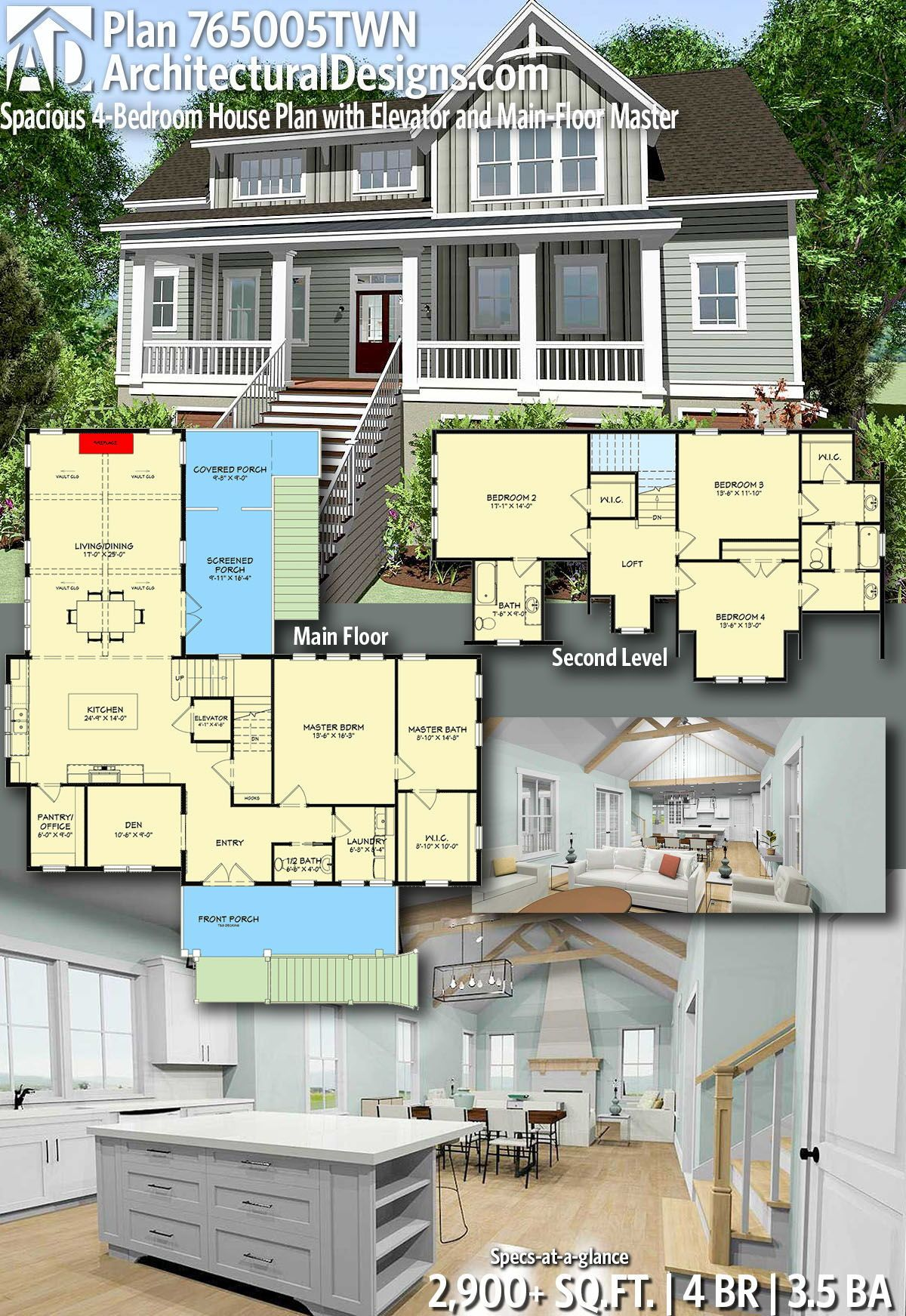 Architectural designs home plan twn gives you bedrooms baths and sq also rh ar pinterest