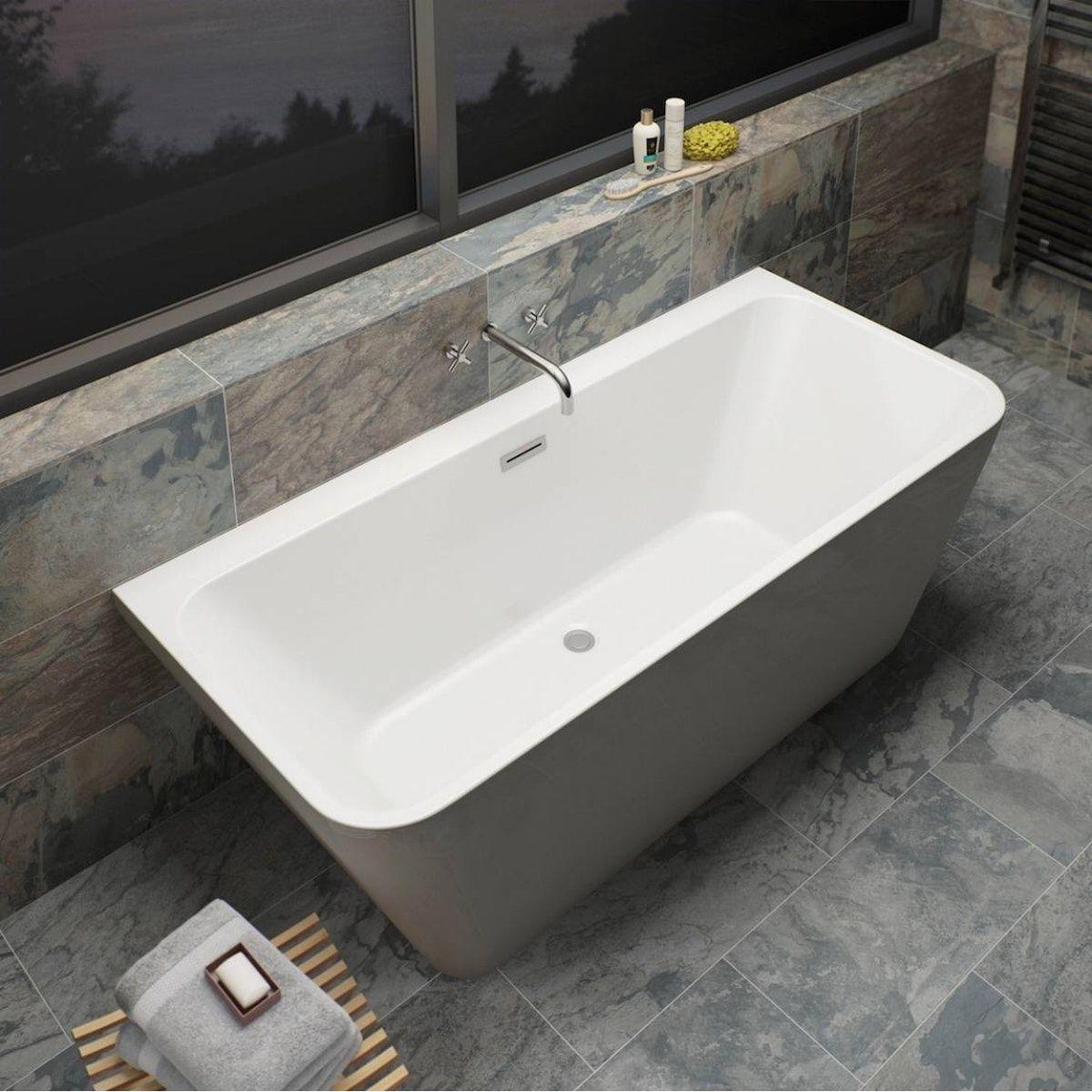 Mode Carter Back To Wall Bath 1700 X 750 Back To Wall Bath Free