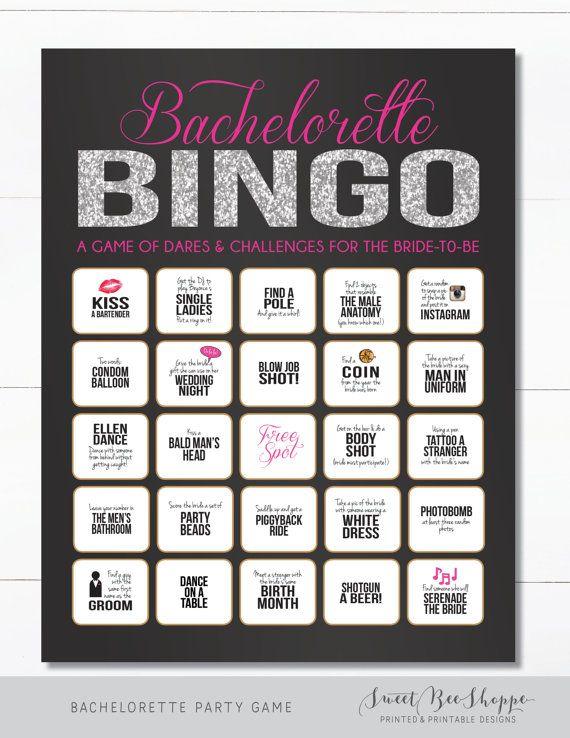 Instant Download Bachelorette Party Game Printable Bachelorette