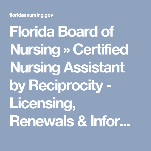 Florida board of nursing certified nursing assistant by certified nurse malvernweather Image collections
