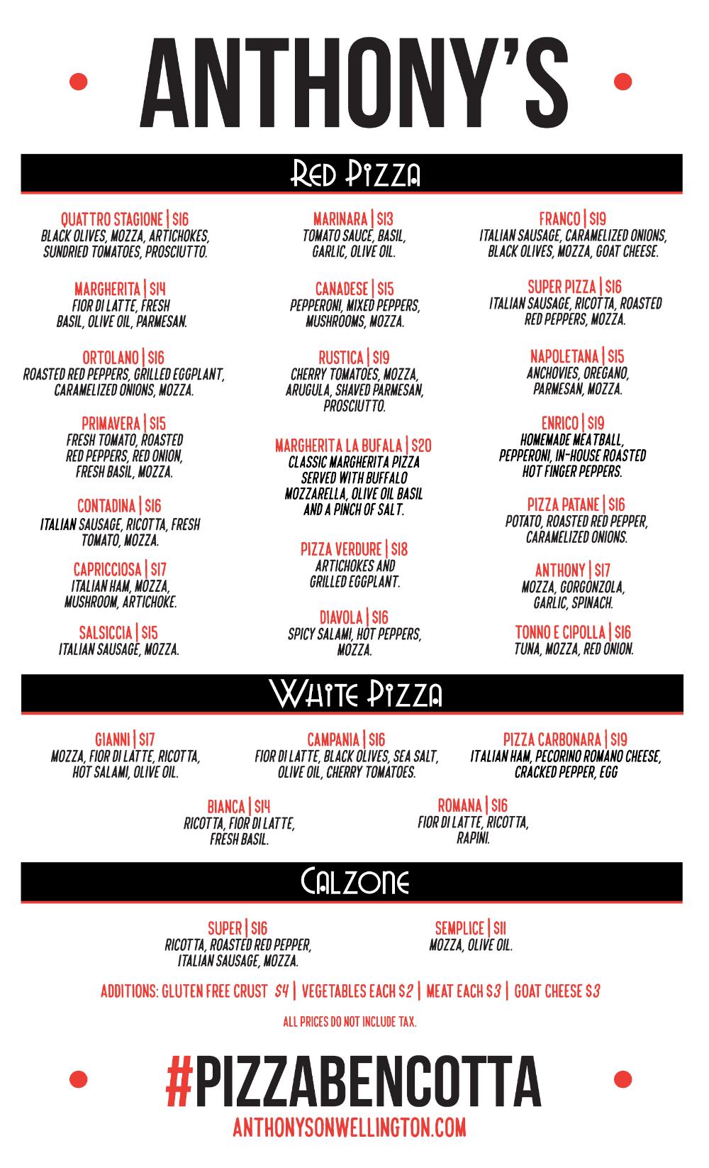 Pin By Stephanie Savard On Ottawa Yeah Anthonys Pizza Food Network Recipes Ottawa