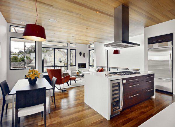 100 küchen designs ? möbel, arbeitsplatten und zahlreiche ... - Wohnzimmer Und Küche Zusammen