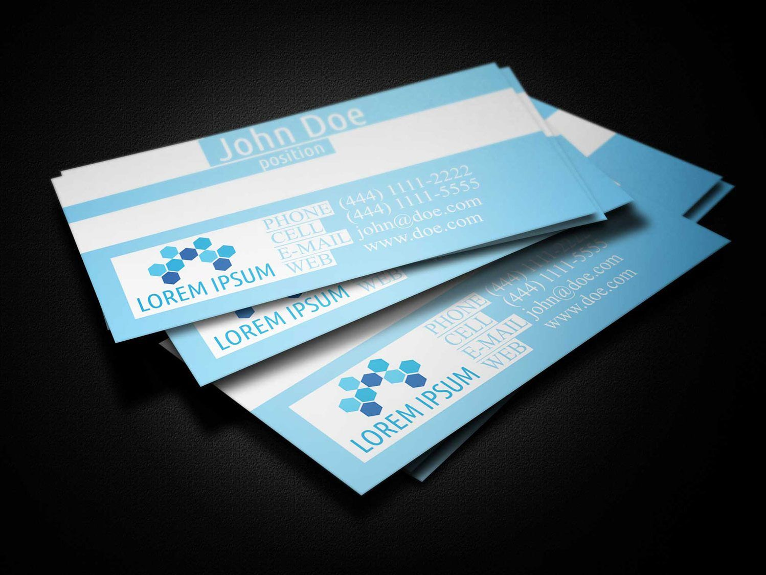 Blue Medical Business Card Template Business Cards Lab With Medical Business Cards Tem Medical Business Card Free Business Card Templates Card Templates Free