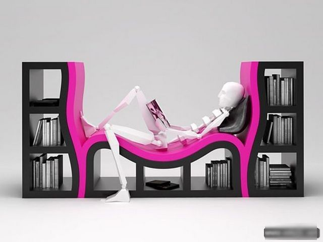 ديكور غرف جديد ديكورات رفوف كتب ابداعية 2015 Creative Bookshelves Cool Bookshelves Bookshelf Design