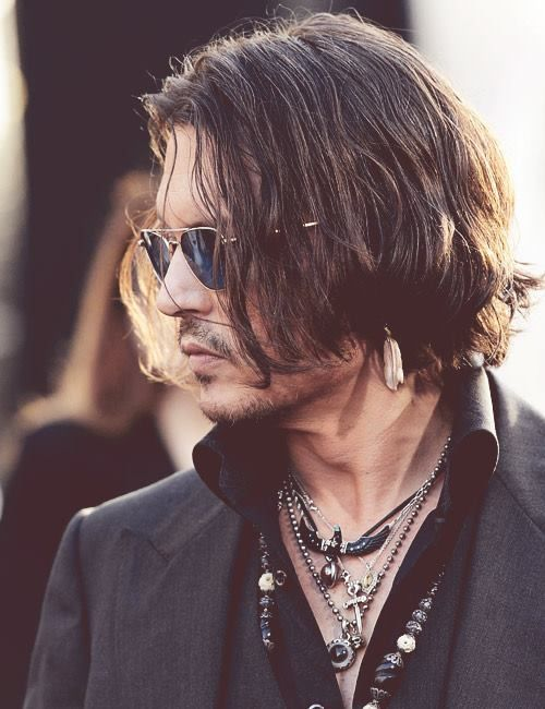 Fashion Photography Shopping Design Ideas Pictures And Inspiration Johnny Depp Style Long Hair Styles Men Long Hair Styles