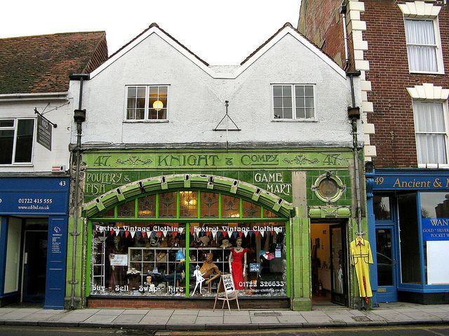 Old Tiled Shop Front Salisbury Wilts Shop Front Signs Shop Fronts Shop Front