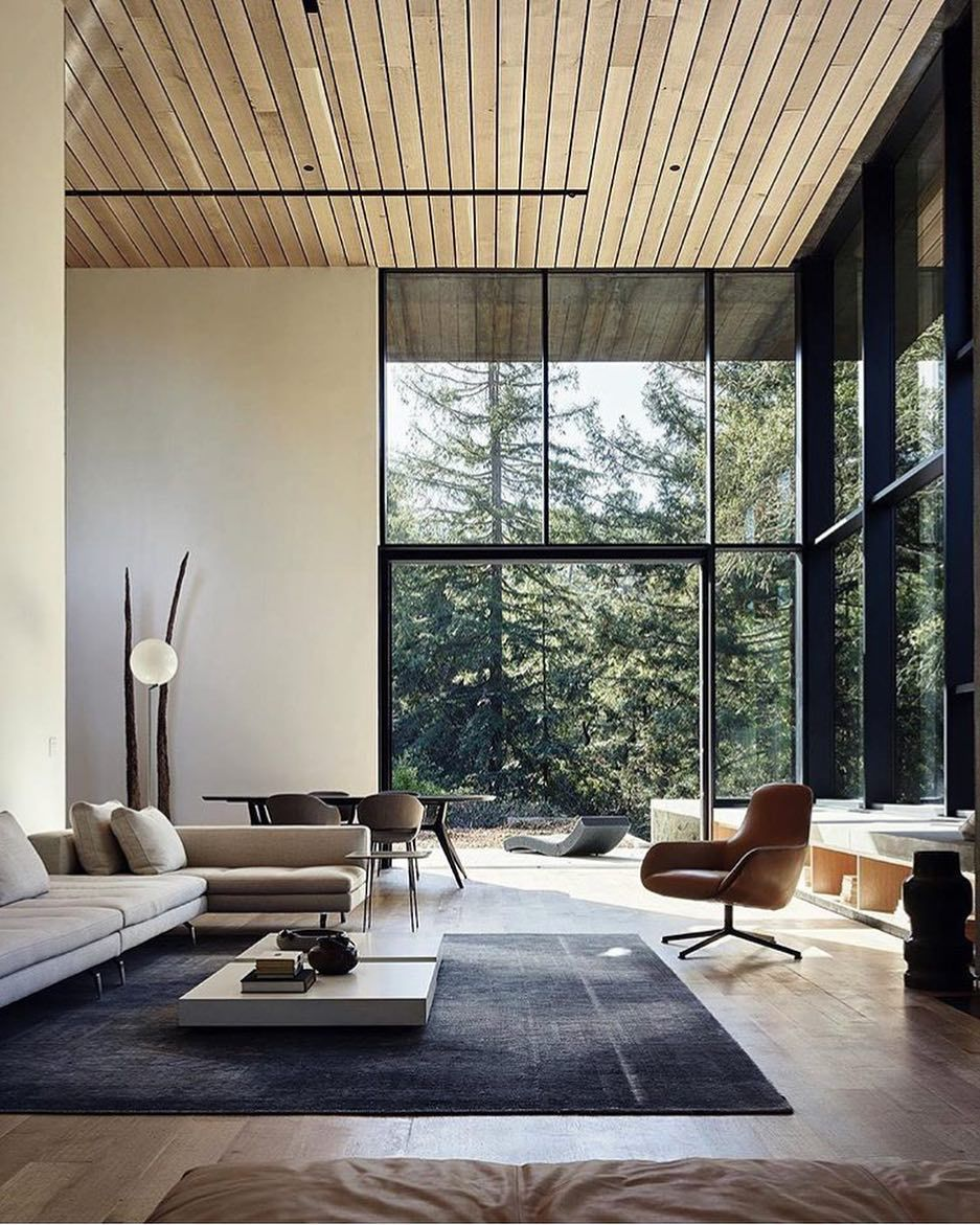 We are not quite ready to announce that weathering steel is the new wood but flirting with idea suddenly noticing examples of also minimal interior design inspiration mooie huise dingen wo rh pinterest