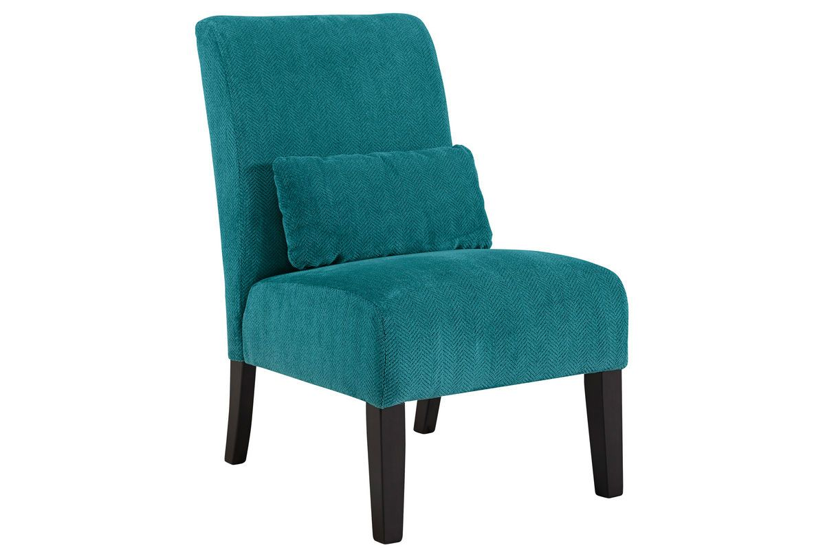 Annora Teal Accent Chair 6160460 From Gardner White Furniture