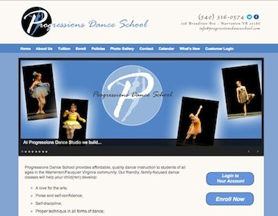 Progressions Dance School, Warrenton, Virginia -- family-friendly creative movement classes, ballet, jazz, tap - for children and adults.  http://progressionsdanceschool.com