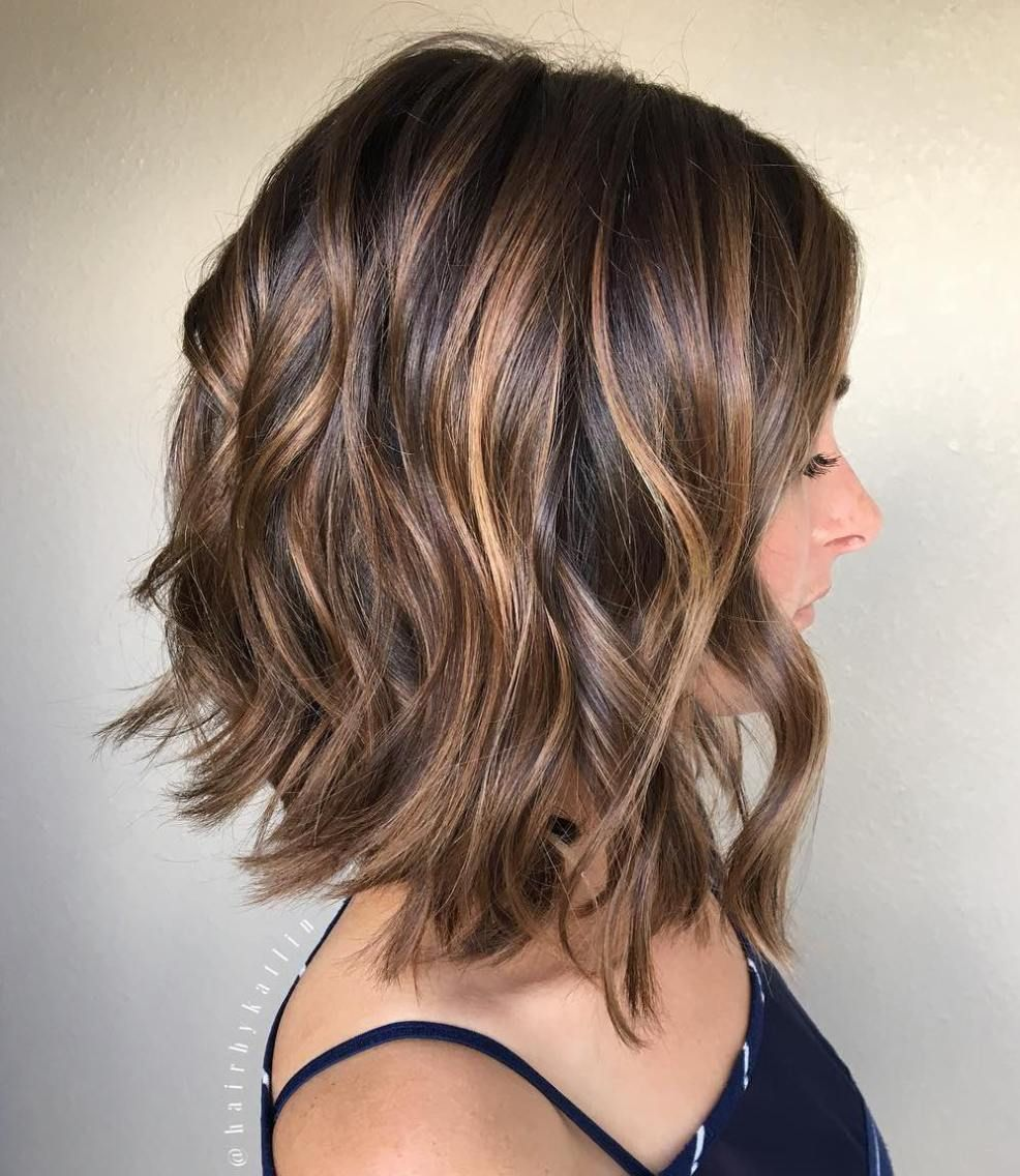 Special Occasion Hairstyles  Caramel Bobs and Brown