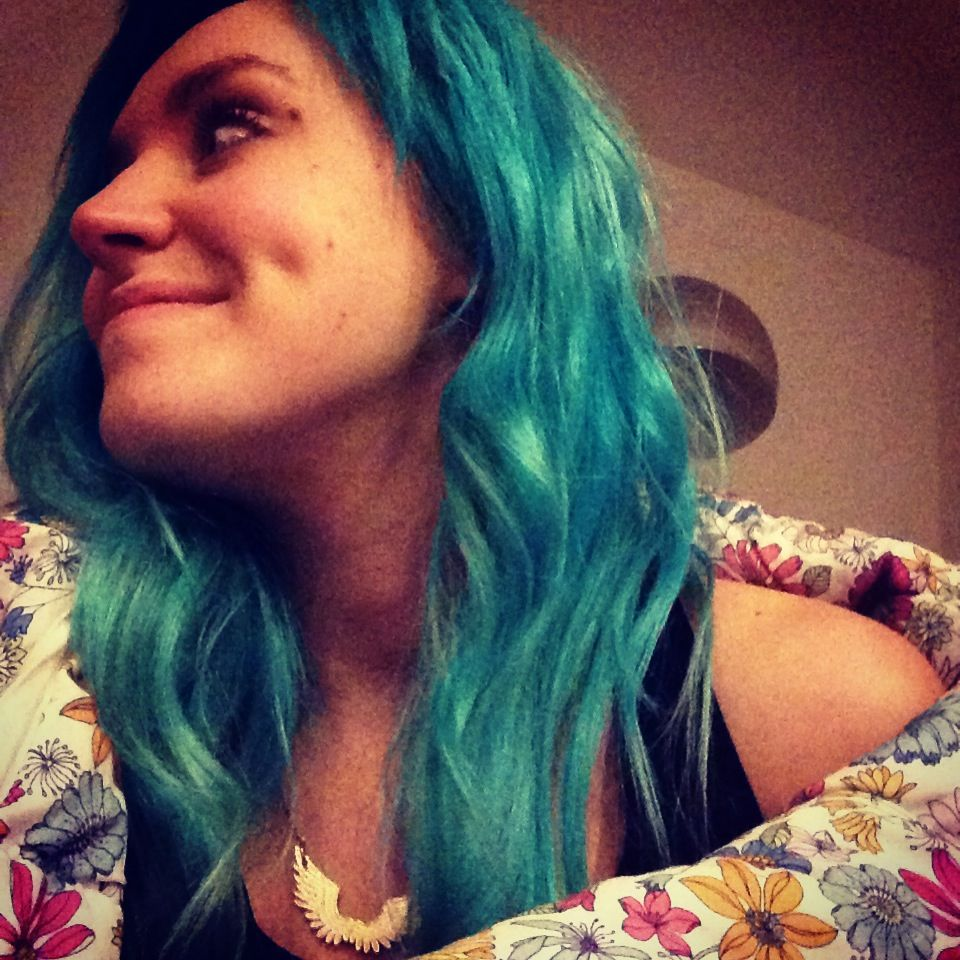 turquoise and white toner mix la riche directions teal hair