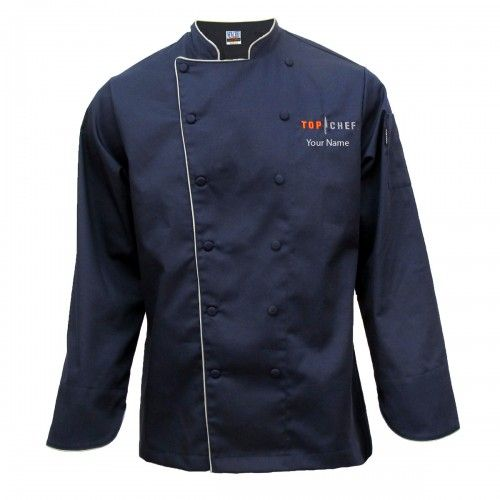 Top Chef Jacket [Personalized] Chef\'s Jacket #shopbybravo $124.95 ...