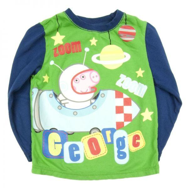 Bluzka dziewczęca George świnka Peppa, 98/104