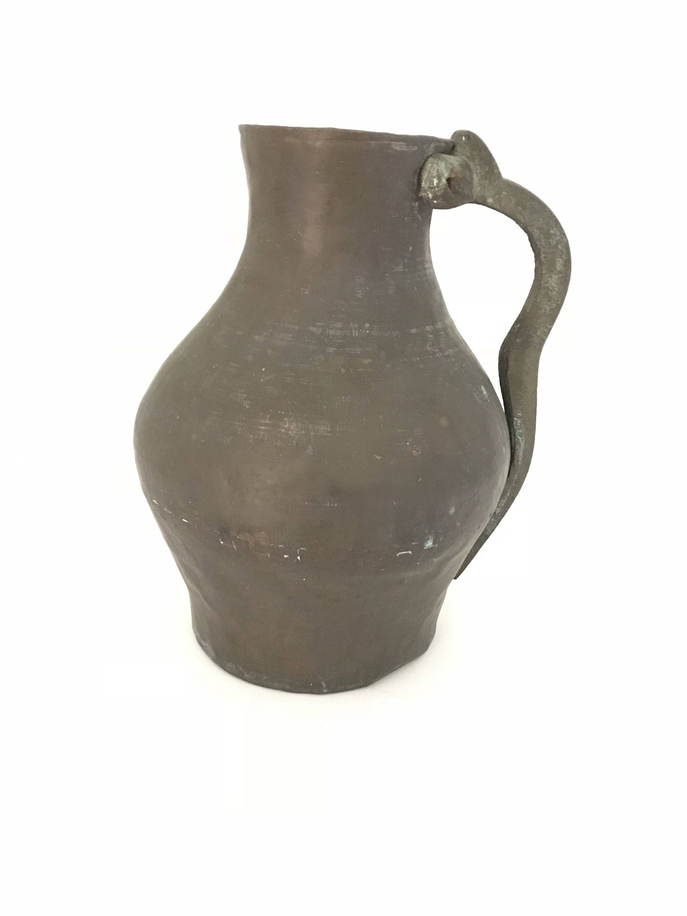 Pitchers Jugs Antique Primitive Water Pitcher Brass Water Jug Home Decor