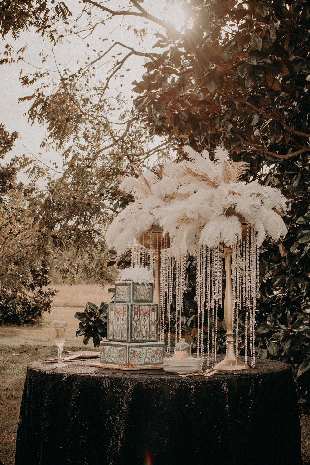Great Gatsby Inspired Wedding A Princess Inspired Blog Classic Stories Vintage 1920 S Weddi Gatsby Style Wedding Gatsby Wedding Theme 1920s Wedding Theme