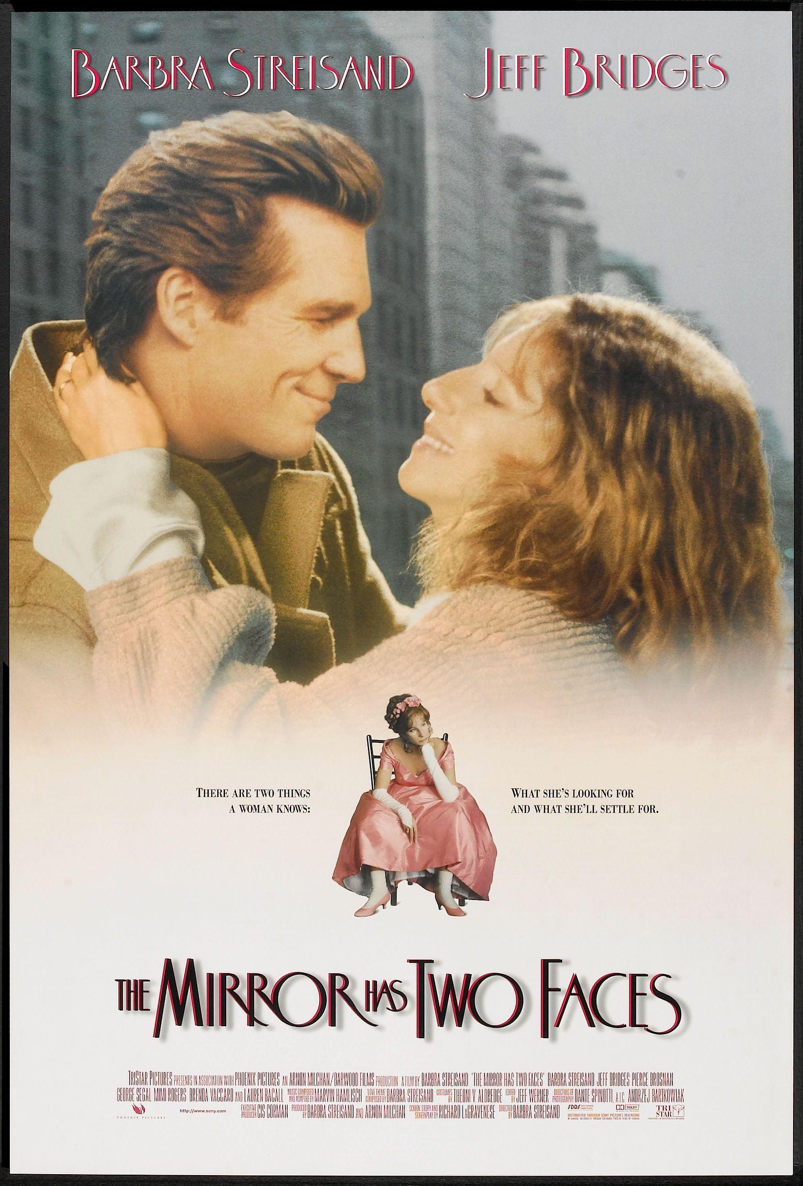 The Mirror Has Two Faces 1996 Con Imagenes Poster De