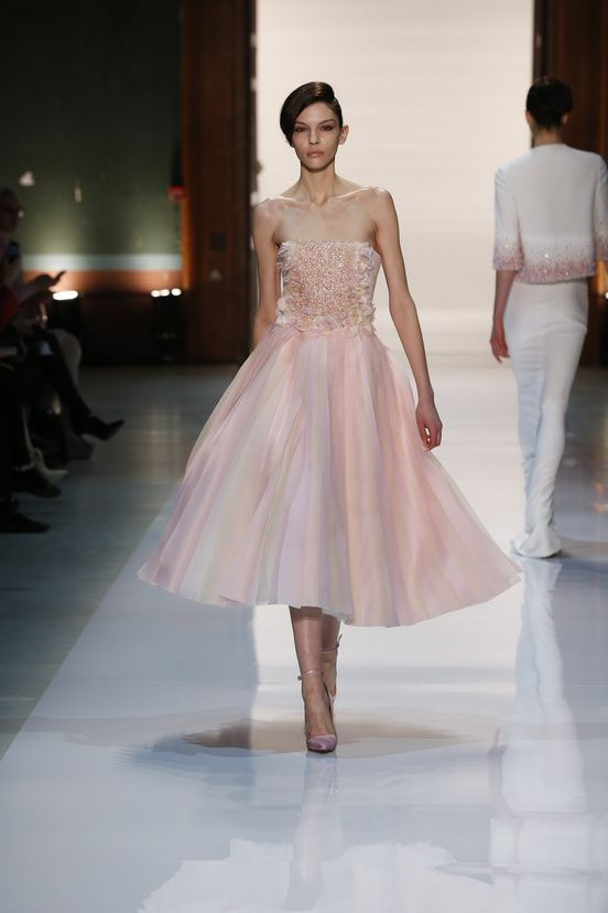 Georges Obeika Couture 2014 #pfw