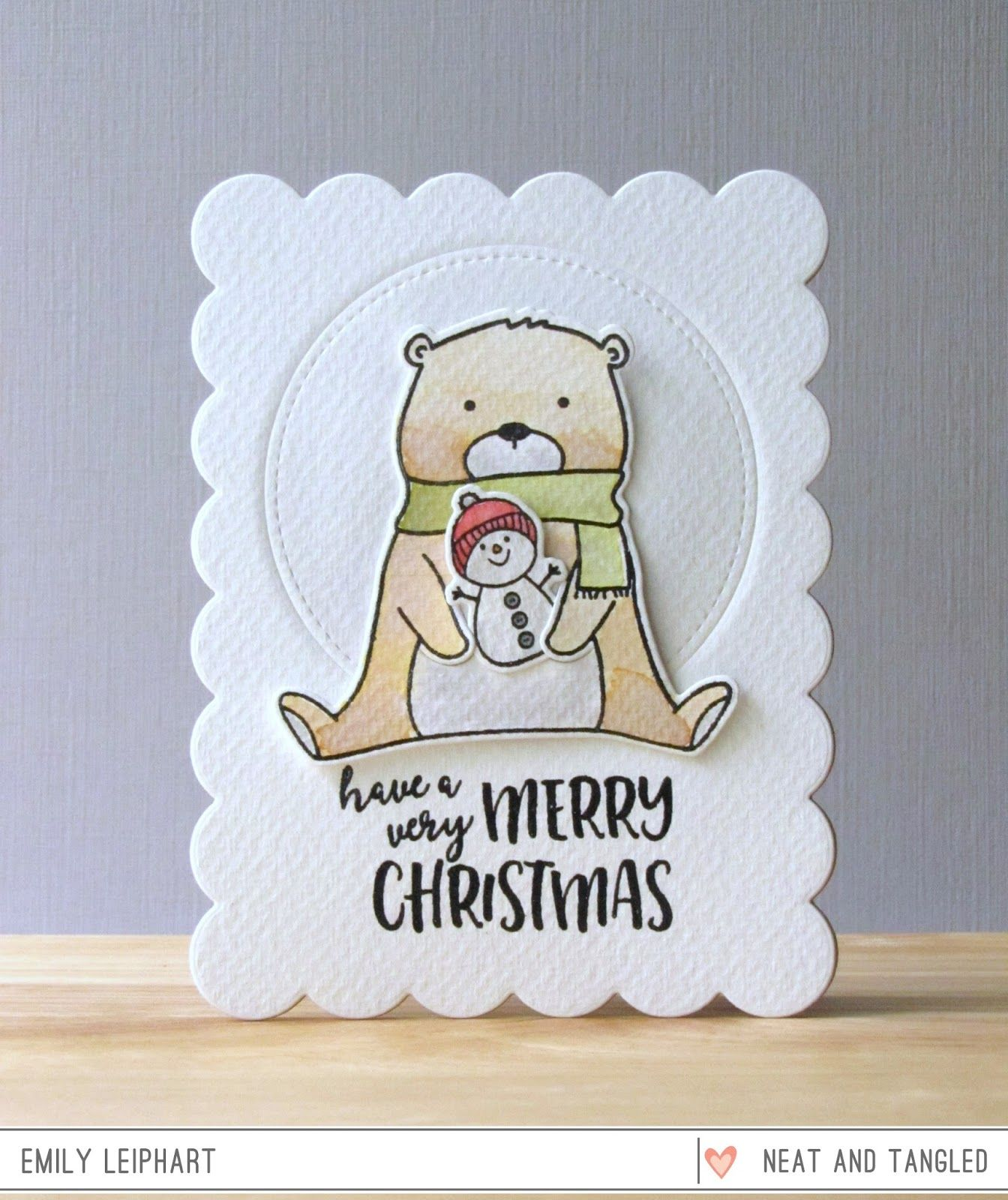 Neat and Tangled: A Beary Merry Christmas with Emily