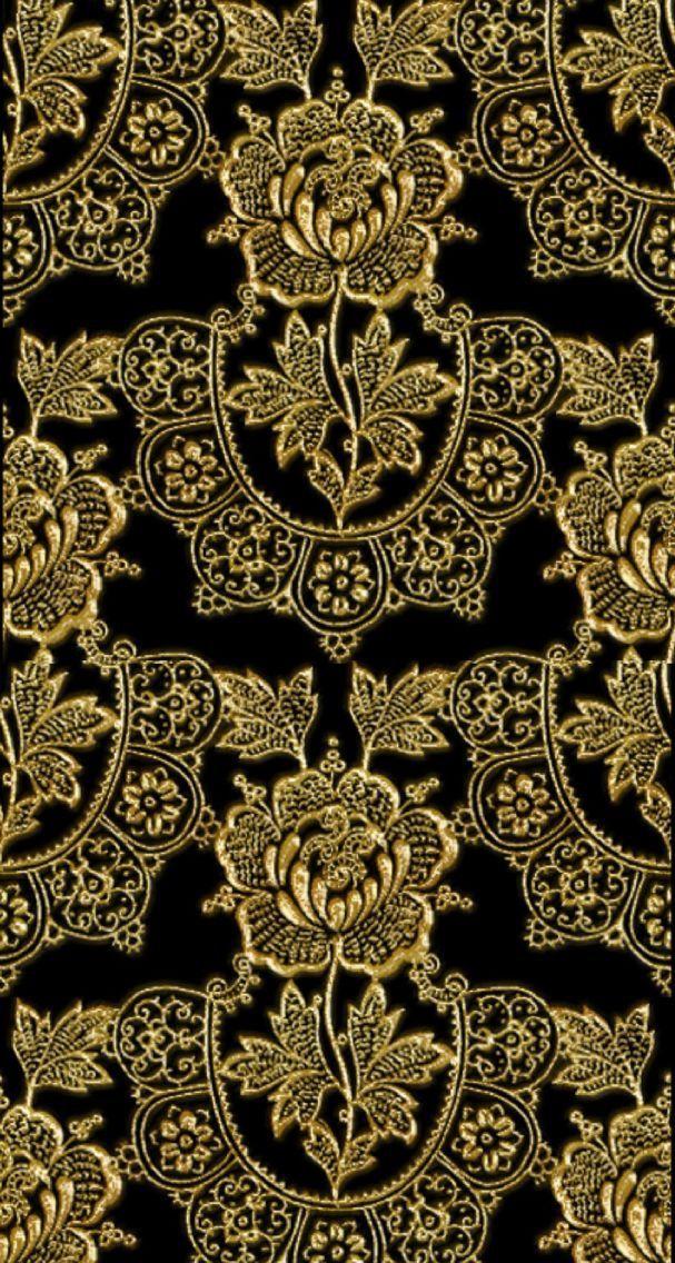 Wallpaper By Artist Unknown Gold Wallpaper Animal Print