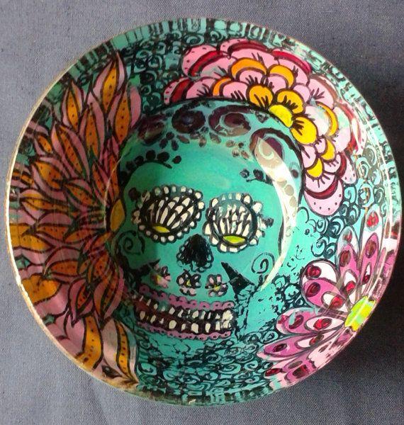 Turquoise Decorative Bowl Awesome Turquoise Altar Bowl Offering Bowls Decorativewaxyflowers  I Inspiration Design