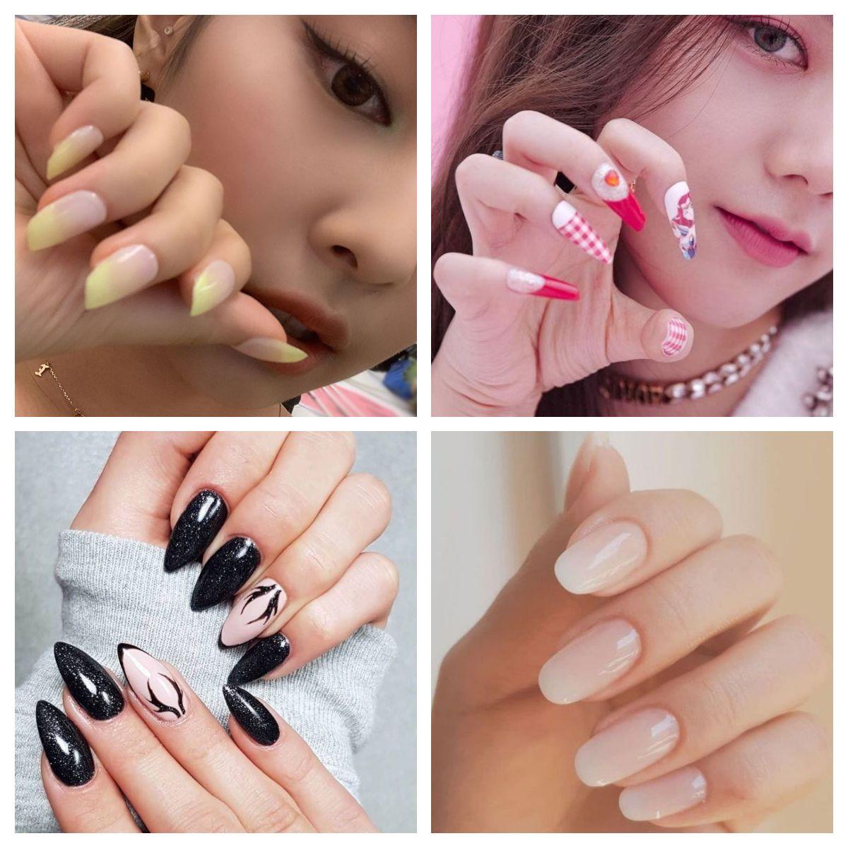 Jennie Or Jisoo Or Lisa Or Rose Unas Fondo De Pantalla De Kpop Maquillaje