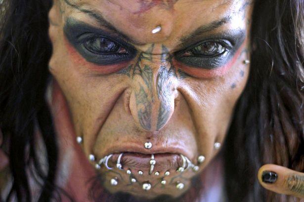Meet The Mexican Devil Man