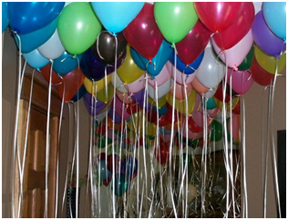 Balloons for the Up Movie Themed Birthday Party Birthday ideas