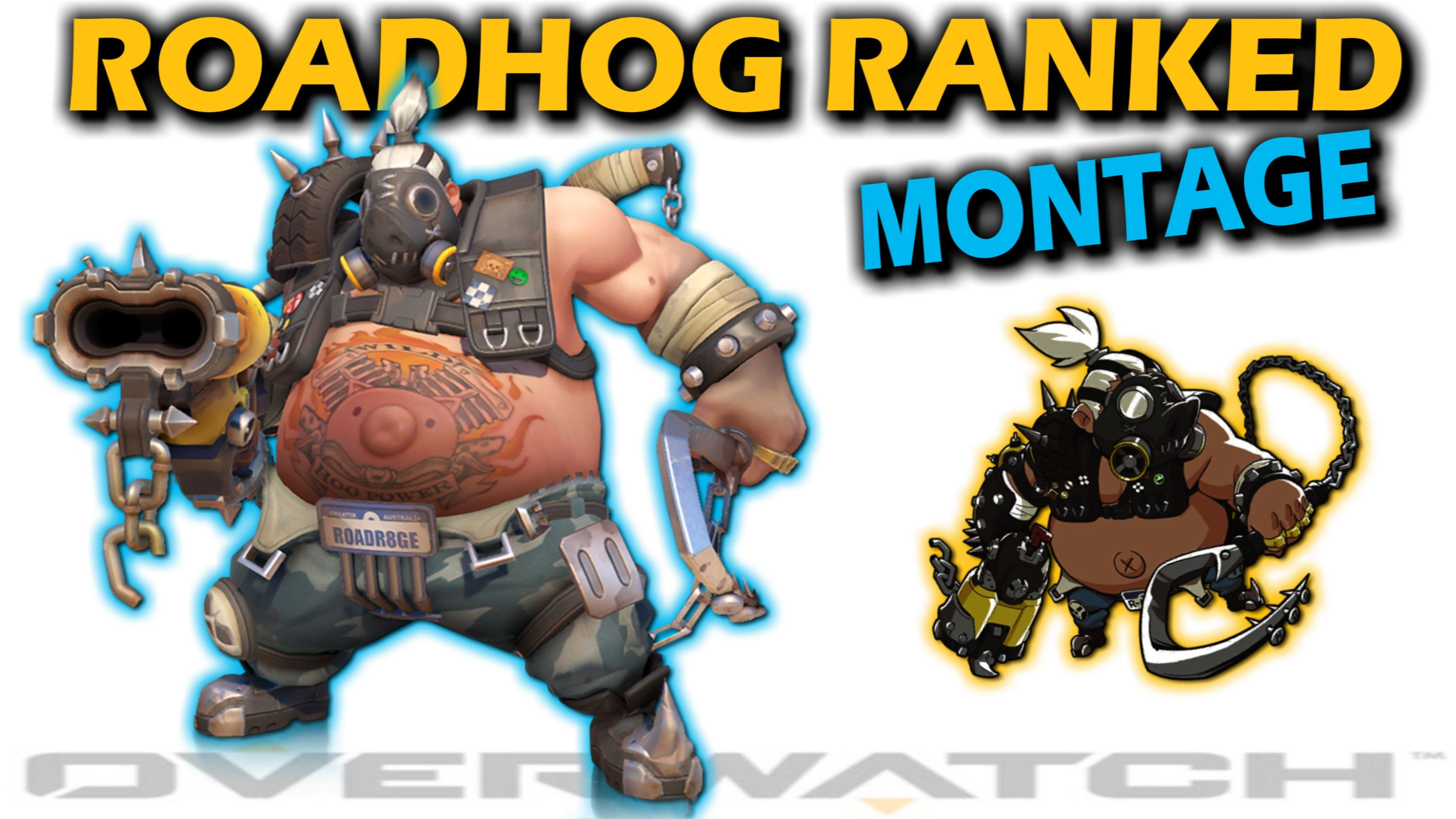 Overwatch: EPIC MONTAGE Roadhog In Ranked Play