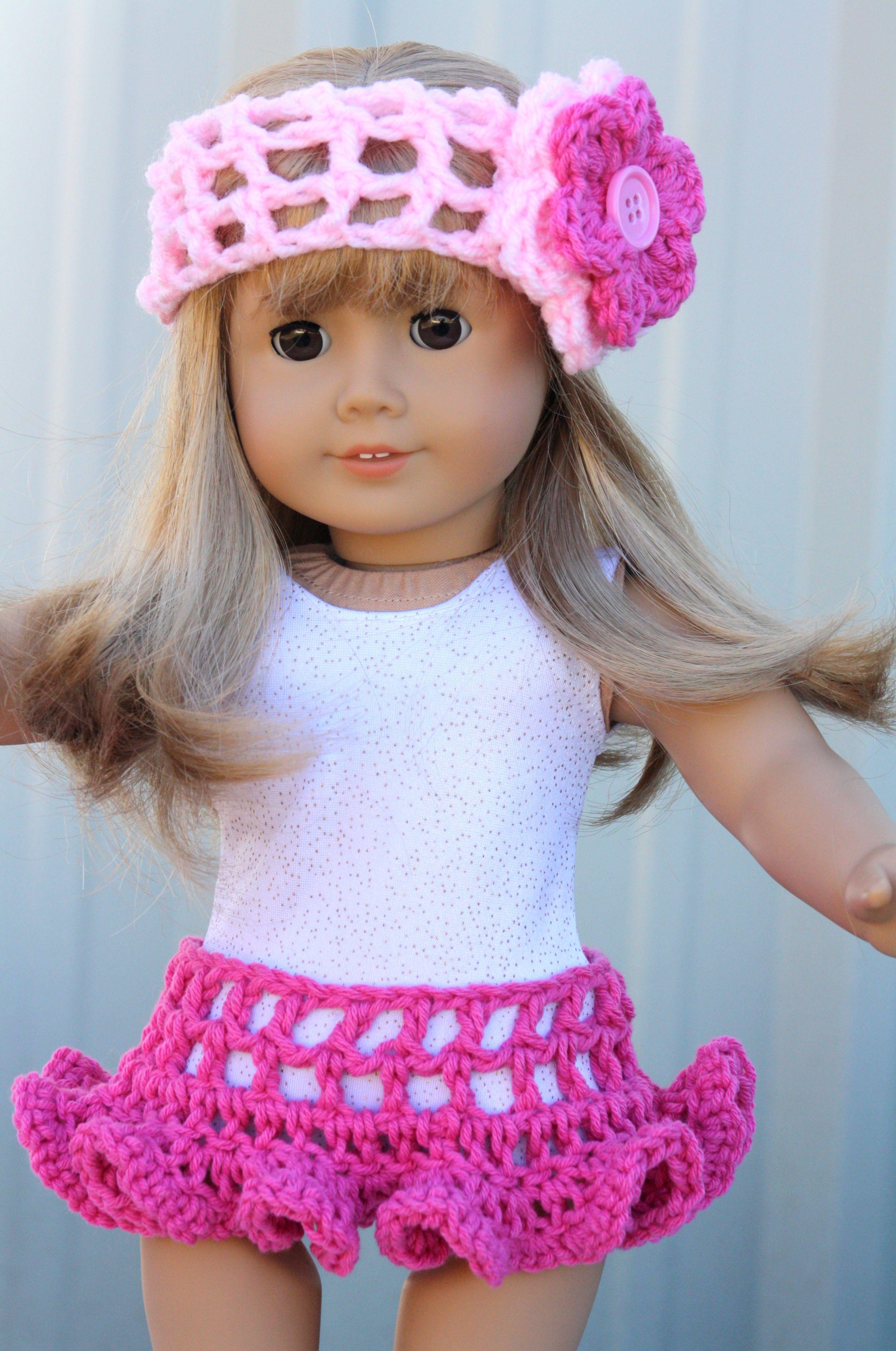 American Girl sized Crochet   American Girl Doll ...