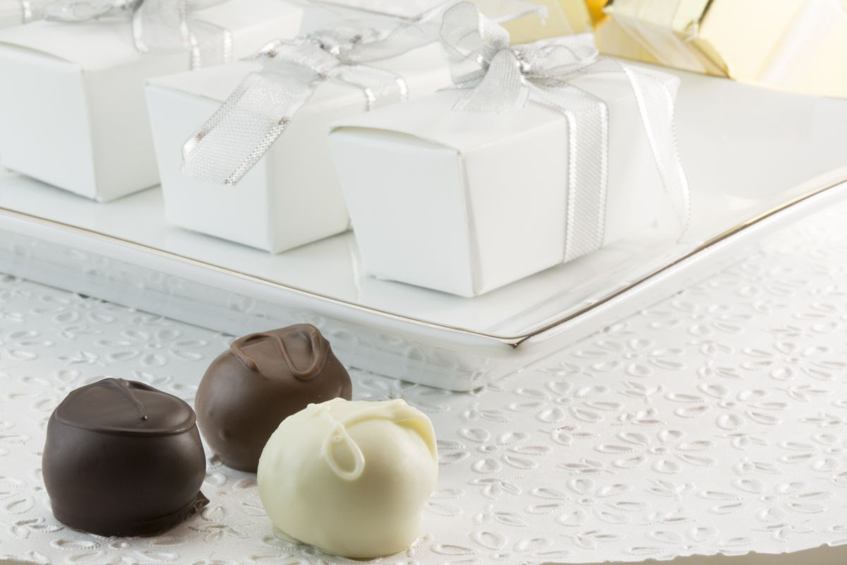 Ganong handcrafted truffles are delicious party favours! Made by ...