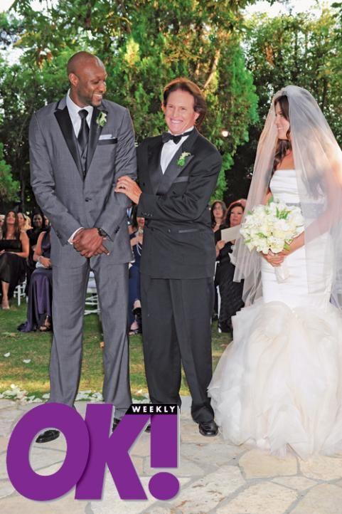 Khloe Kardashianlamer Odom S Wedding Kardashian Wedding Khloe Kardashian