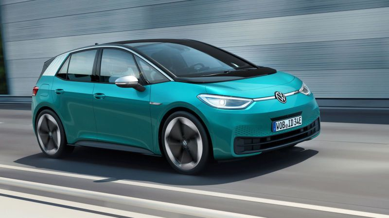 Volkswagen To Launch 40k Electric Car With 600km Range In 2020 Photos Caradvice Electric Cars Volkswagen New Cars