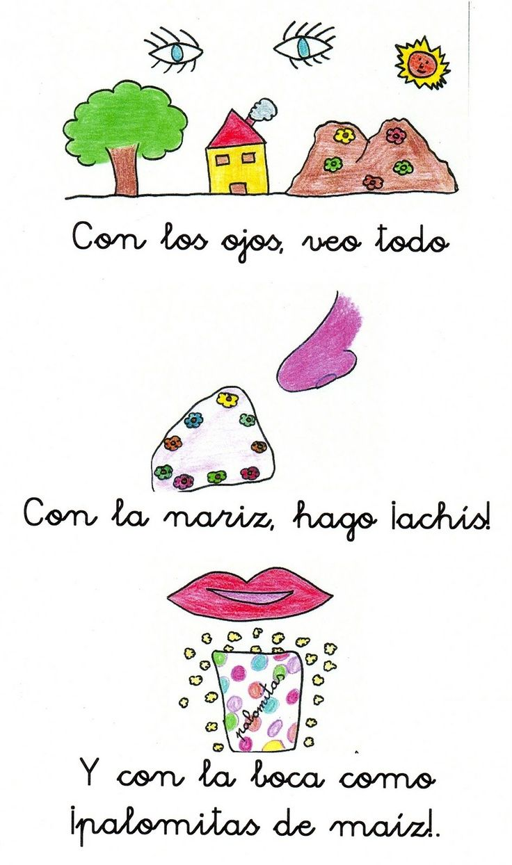Poema Por El Dia Del Campesino Para Niños De Inicial Los Cincos Sentidos Lenguaje Oral Poemas Para Ninos Poesia