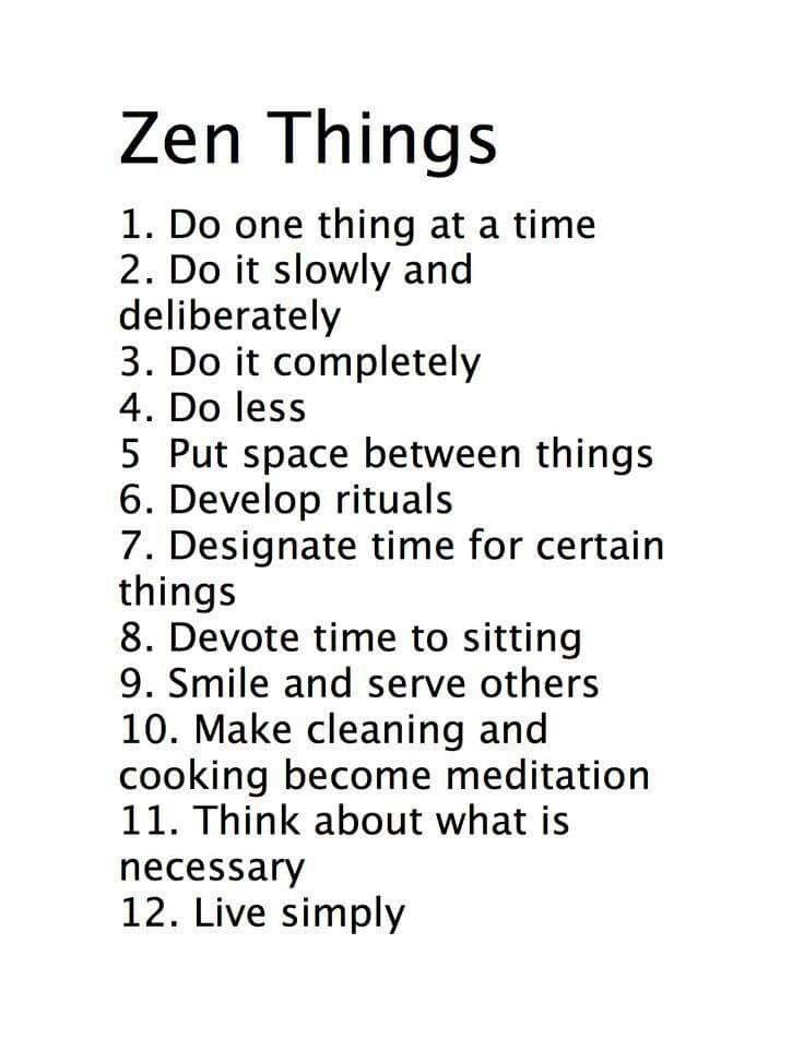 Let's go Zen!
