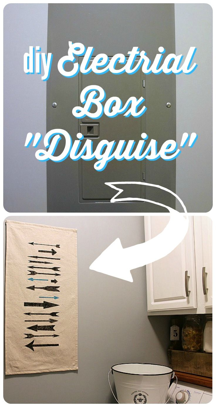 DIY Electrical Box Cover   Box covers, Lawyer and Tutorials