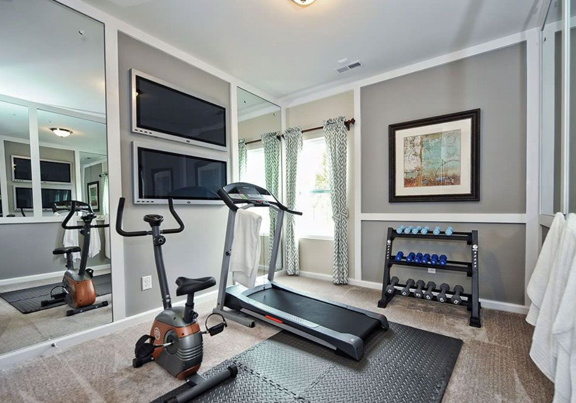 47 Extraordinary Basement Home Gym Design Ideas Home Remodeling