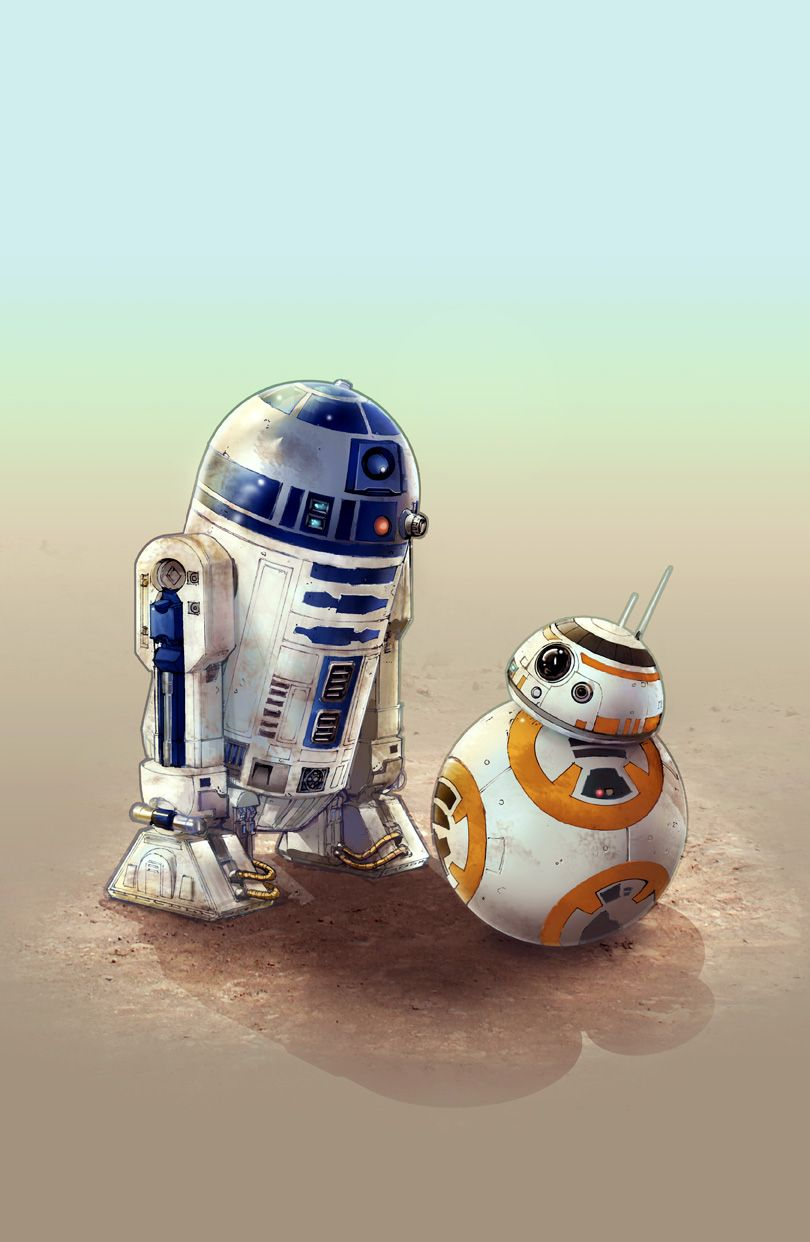 glovestudiosart May the 4th be with you R2 and BB 8