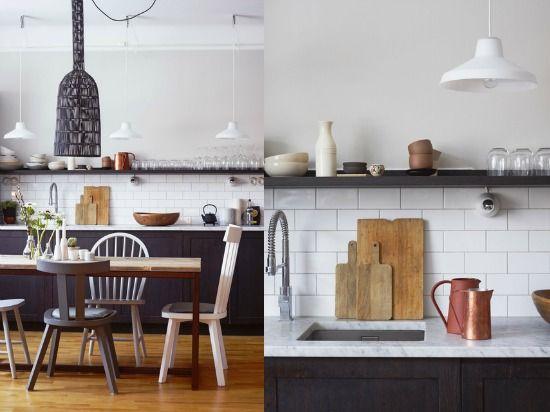 Keuken decoratie houten snijplanken home living