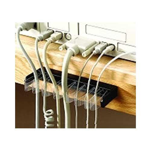 Wire organizer, computer cable organizer, self-adjusting cable organizing  shelf - cableorganizer.