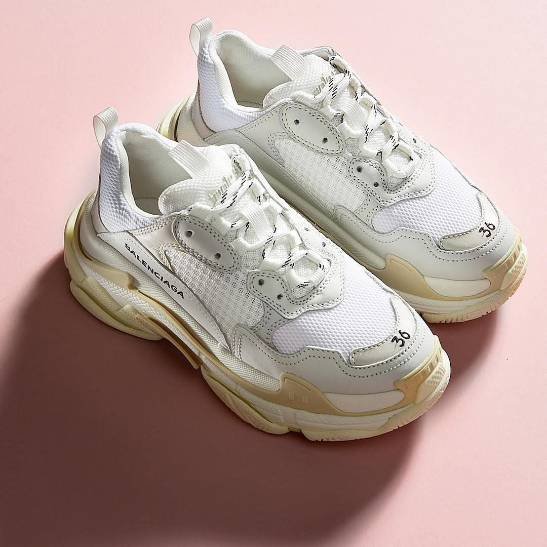 Balenciaga Triple S Split Colourway Low Top Trainers for Men