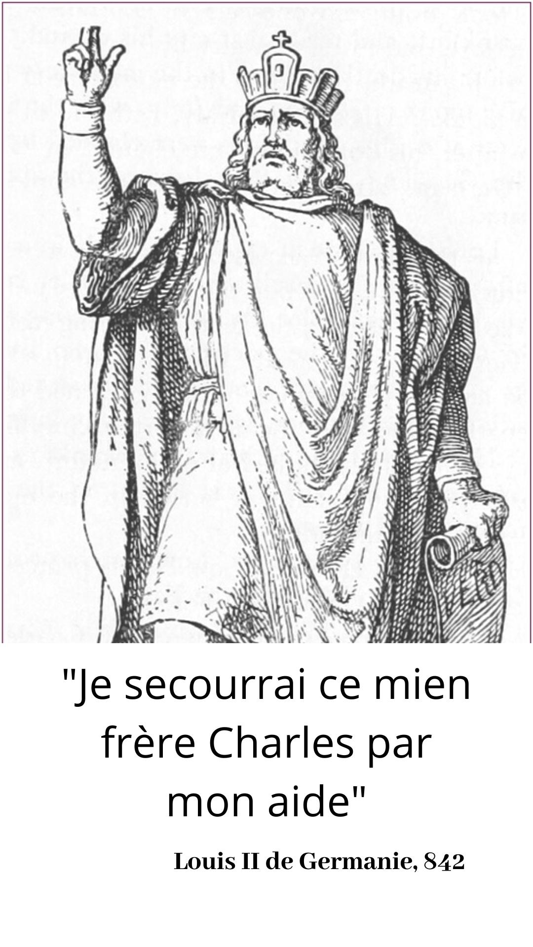 14 Fevrier 842 Serments De Strasbourg En 2020 Danse Latine Citations Historiques Histoire De France