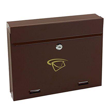 Cassetta per la posta postale in acciaio, modello SK11