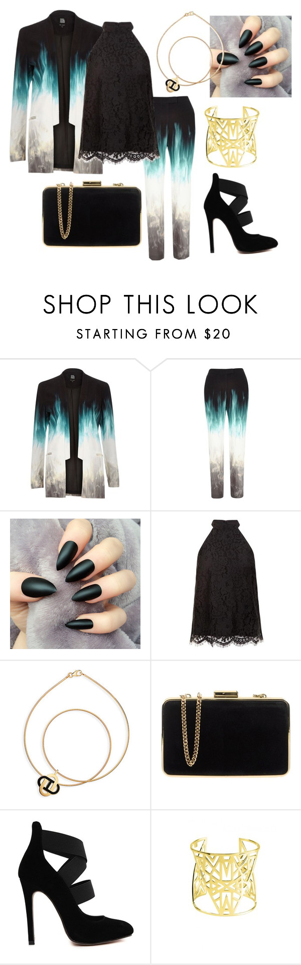 """""""Love is the ultimate expression of the will to live. - Tom Wolfe"""" by emma-oloughlin ❤ liked on Polyvore featuring River Island, Keepsake the Label, MICHAEL Michael Kors and Vélizance"""