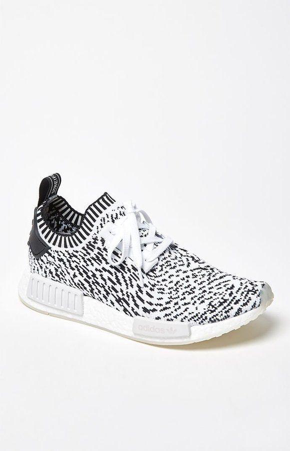 4f554ac4b adidas NMD R1 Primeknit Sashiko White   Black Shoes