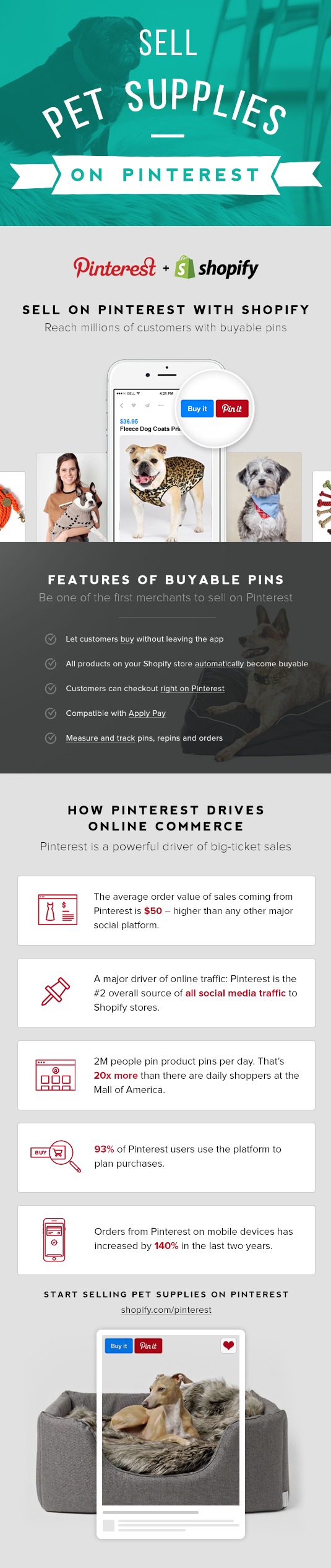 Sell pet supplies on Pinterest with Buyable Pins | Buyable Pins ...