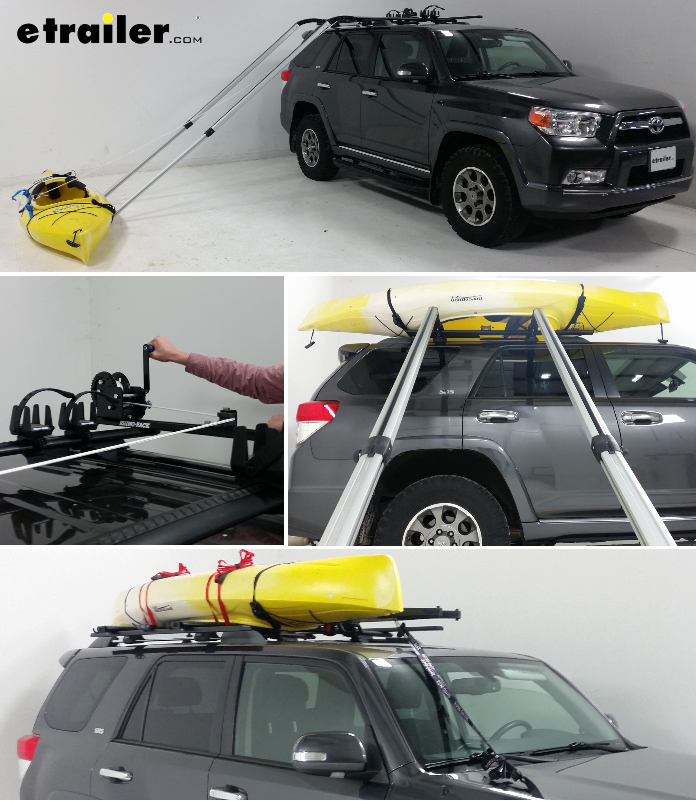 Easily load a kayak from the ground onto your roof rack by yourself on marine kayak, jet ski kayak, subaru kayak, eagle kayak,