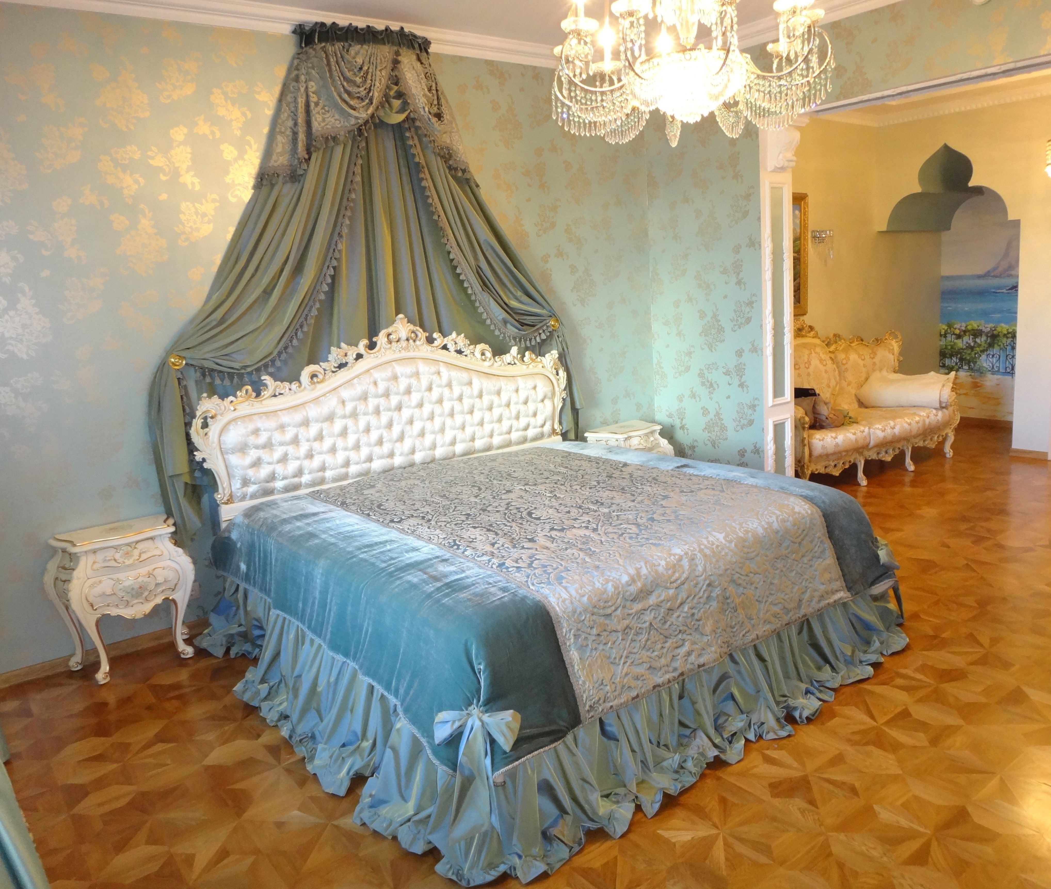 bedspread curtains r classics curtain oversized pin fitted room country bed bedspreads color